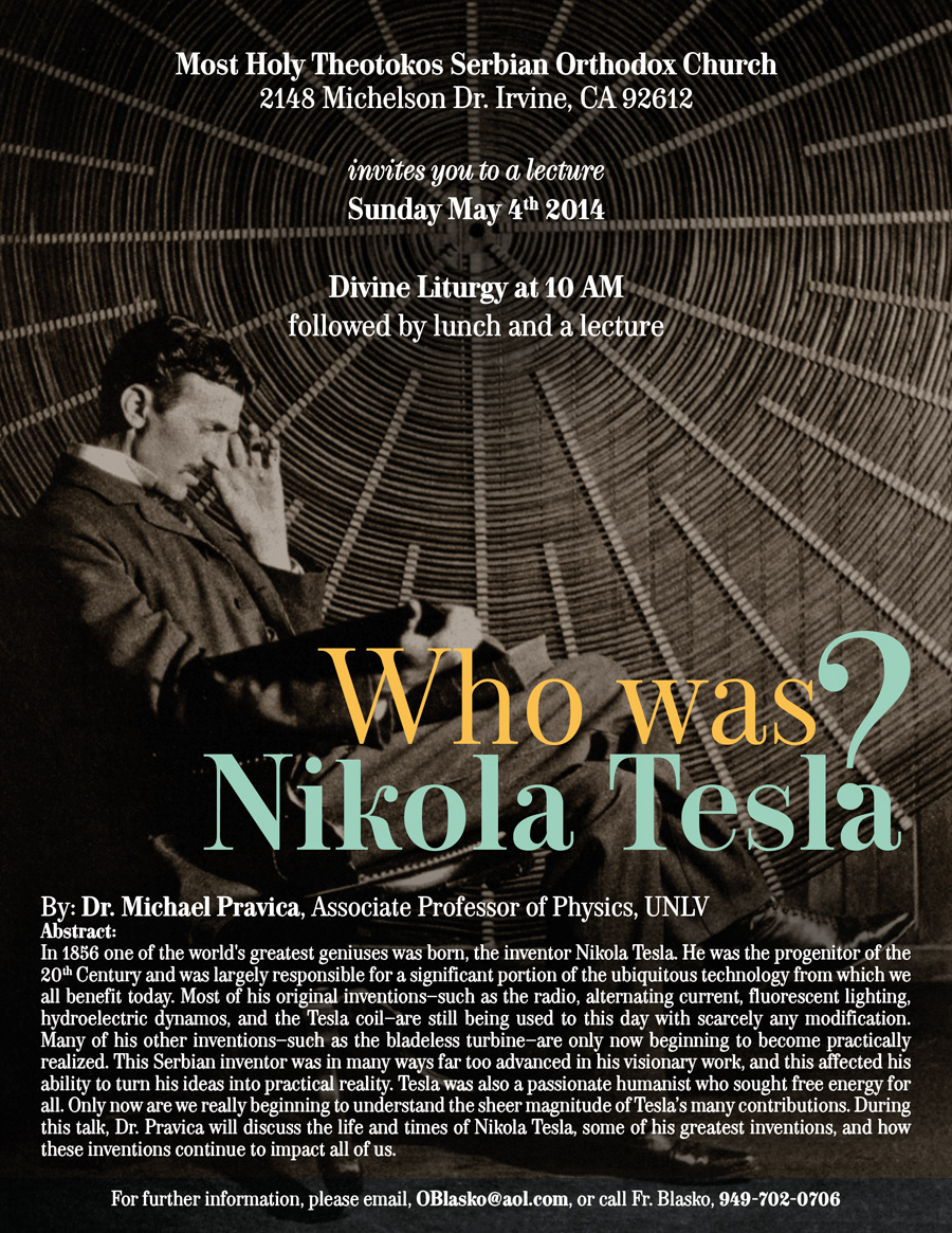 thesis on nikola tesla Nikola tesla greatly contributed to the development of commercial electricity tesla was born on july 10th, 1856 to serbian parents in the modern-day croatia tesla as a child was so curious about the world around him and experienced a strange childhood.